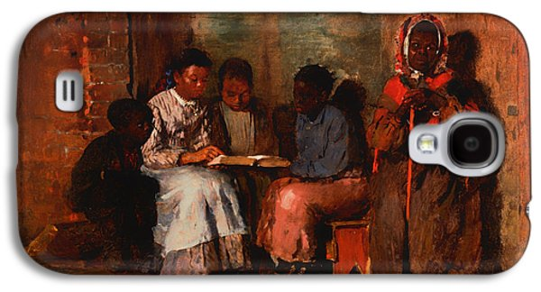 Slavery Paintings Galaxy S4 Cases - Sunday Evening Galaxy S4 Case by Winslow Homer