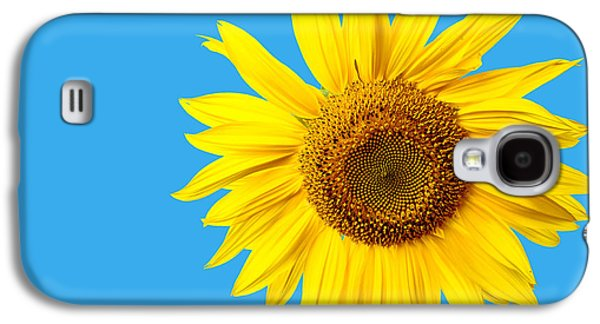 Sunflower Blue Sky Galaxy S4 Case by Edward Fielding