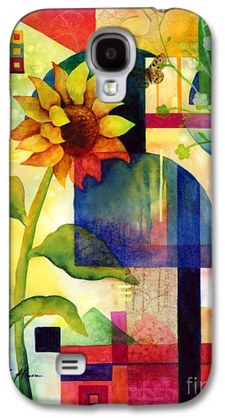 Recently Sold -  - Abstract Nature Galaxy S4 Cases - Sunflower Collage Galaxy S4 Case by Hailey E Herrera
