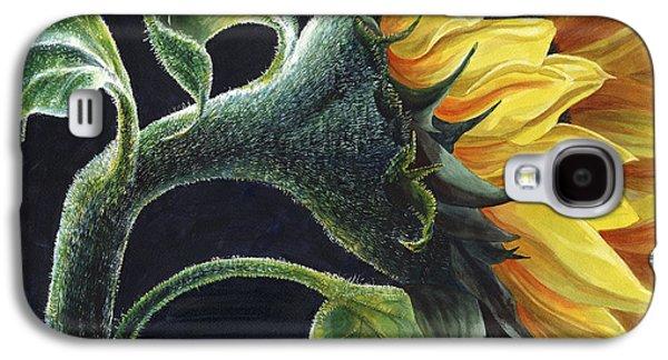 Sunflower Galaxy S4 Case by Karen Wright