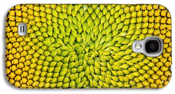 Sunflower Middle  Galaxy S4 Case by Tim Gainey