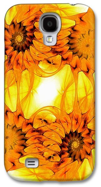 Beautiful Galaxy S4 Cases - Sunflowers Galaxy S4 Case by Anastasiya Malakhova