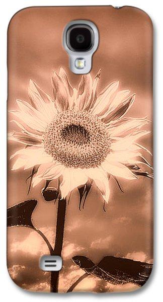 Dreamscape Galaxy S4 Cases - Sunflowers Galaxy S4 Case by Bob Orsillo