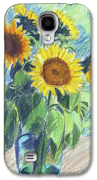 Sunflowers Galaxy S4 Case by Mary Helmreich