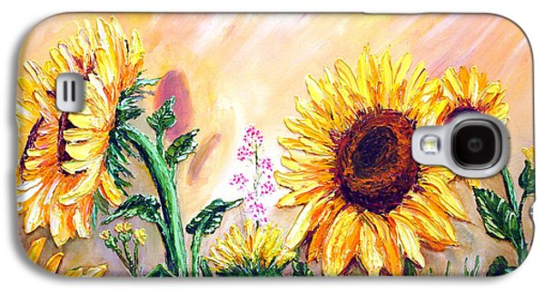 Sunflowers Galaxy S4 Case by Shirwan Ahmed