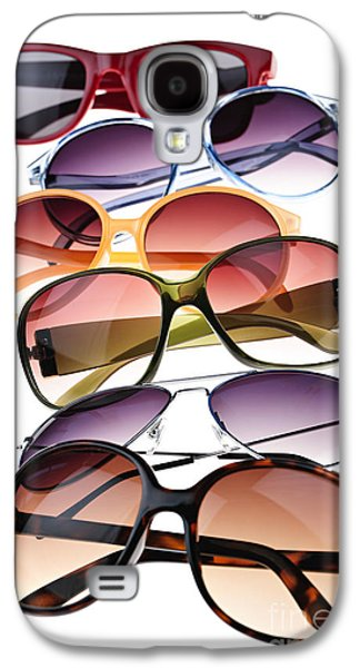 Plastic Galaxy S4 Cases - Sunglasses Galaxy S4 Case by Elena Elisseeva