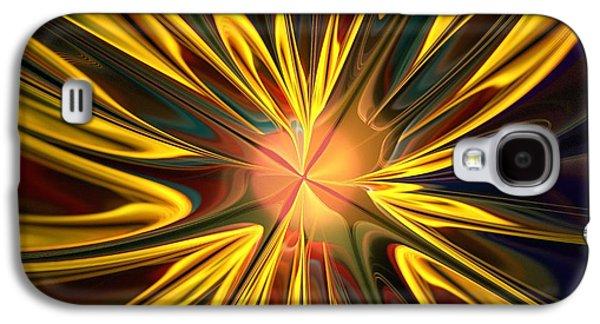 Colors Digital Galaxy S4 Cases - Sunglow Galaxy S4 Case by Anastasiya Malakhova