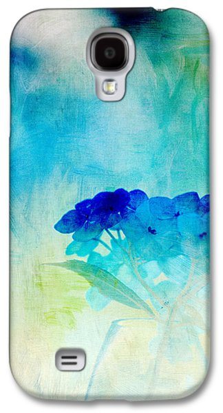 Paint Photograph Galaxy S4 Cases - Sunkissed Hydrangeas Galaxy S4 Case by Bonnie Bruno
