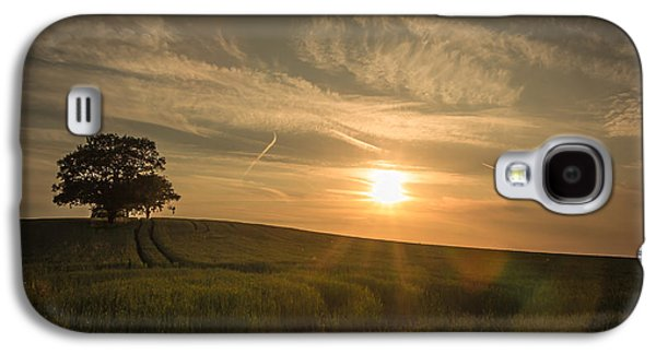 Agricultural Galaxy S4 Cases - Sunlight across the crops Galaxy S4 Case by Chris Fletcher