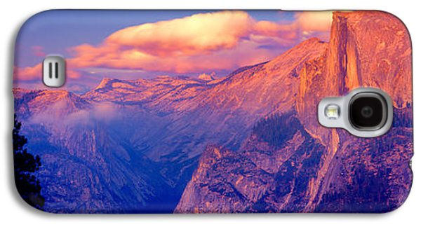 Sunlight Falling On A Mountain, Half Galaxy S4 Case by Panoramic Images