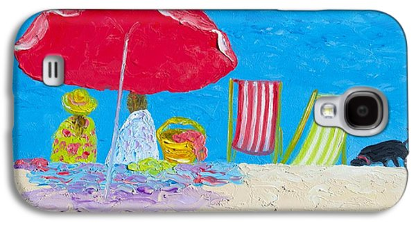 Sunny Afternoon At The Beach Galaxy S4 Case by Jan Matson