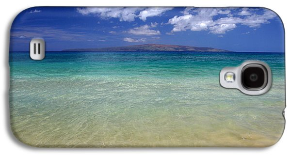 Sunshine Galaxy S4 Cases - Sunny Blue Beach Makena Maui Hawaii Galaxy S4 Case by Pierre Leclerc Photography