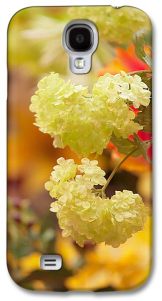 Flower Design Photographs Galaxy S4 Cases - Sunny Mood. Amsterdam Flower Market Galaxy S4 Case by Jenny Rainbow