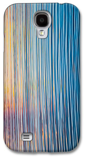 Sunset Abstract Galaxy S4 Cases - Sunrise Abstract #1 Galaxy S4 Case by Parker Cunningham