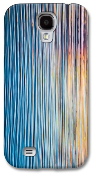 Sunset Abstract Galaxy S4 Cases - Sunrise Abstract #3 Galaxy S4 Case by Parker Cunningham