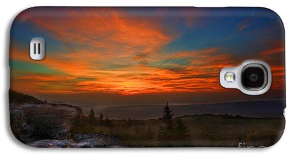 Dan Friend Galaxy S4 Cases - Sunrise at Bear Rocks in Dolly Sods Galaxy S4 Case by Dan Friend