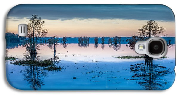 Alga Galaxy S4 Cases - Sunrise at Steinhagen Reservoir Galaxy S4 Case by David Morefield