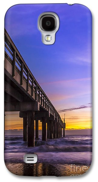 Sunrise At The Pier Galaxy S4 Case by Marvin Spates