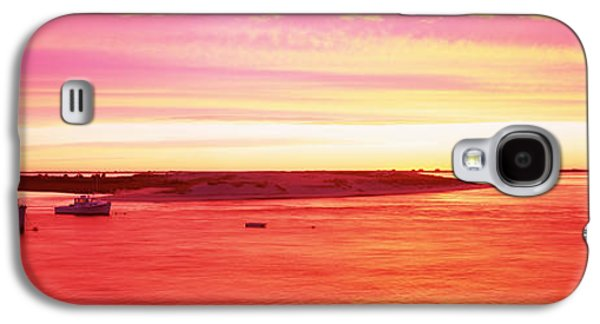 Chatham Galaxy S4 Cases - Sunrise Chatham Harbor Cape Cod Ma Usa Galaxy S4 Case by Panoramic Images