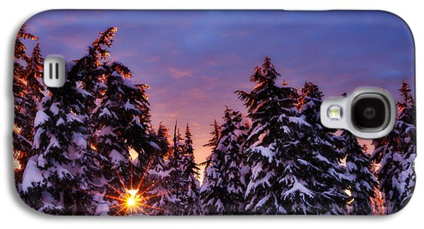 Winter Prints Galaxy S4 Cases - Sunrise Dreams Galaxy S4 Case by Darren  White