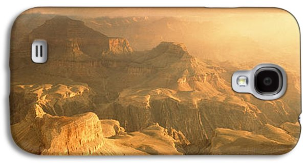Hopi Galaxy S4 Cases - Sunrise Hopi Point Grand Canyon Galaxy S4 Case by Panoramic Images