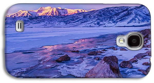 Beautiful Creek Galaxy S4 Cases - Sunrise Ice Reflection Galaxy S4 Case by Chad Dutson