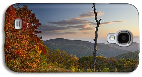 Scenic Drive Galaxy S4 Cases - Sunrise in Shenandoah National Park Galaxy S4 Case by Pierre Leclerc Photography