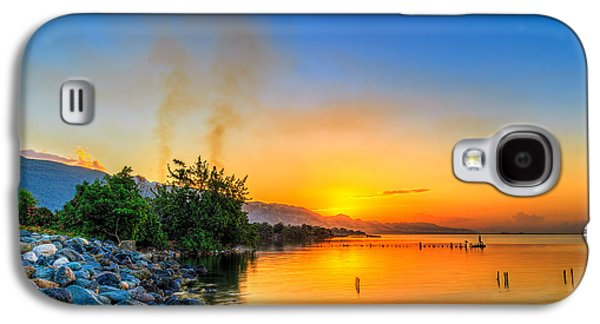 Manley Galaxy S4 Cases - Sunrise Galaxy S4 Case by Lechmoore Simms