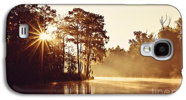 Sunrise On The Bayou Galaxy S4 Case by Scott Pellegrin