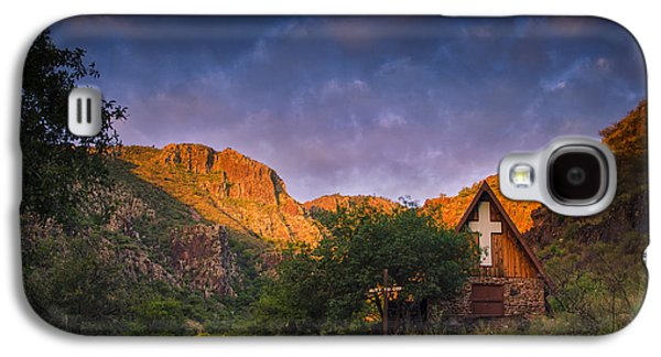 Recently Sold -  - Landscapes Photographs Galaxy S4 Cases - Sunrise on the Chapel Galaxy S4 Case by Aaron S Bedell