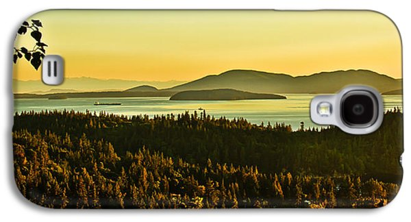Recently Sold -  - Haybale Galaxy S4 Cases - Sunrise Over Bellingham Bay Galaxy S4 Case by Robert Bales