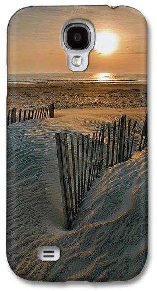 Carolina Galaxy S4 Cases - Sunrise Over Hatteras Galaxy S4 Case by Steven Ainsworth