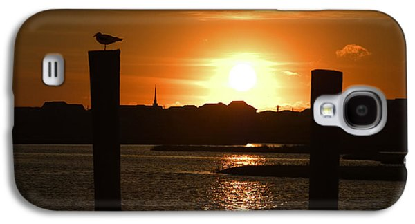 Topsail Galaxy S4 Cases - Sunrise Over Topsail Island Galaxy S4 Case by Mike McGlothlen