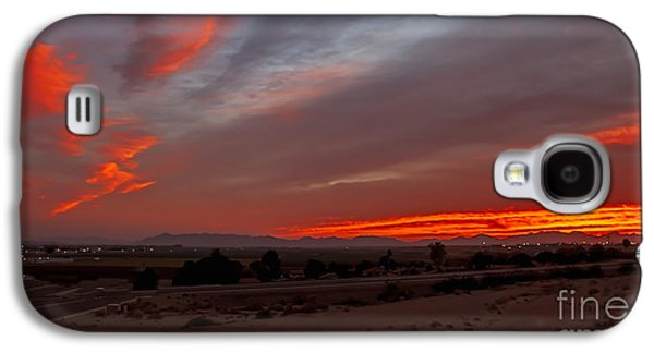 Sunrise Over Yuma Galaxy S4 Case by Robert Bales