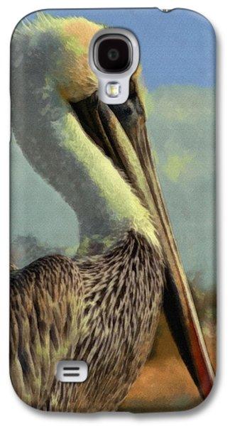 Sunrise Pelican Galaxy S4 Case by Ernie Echols