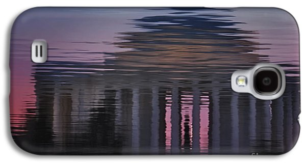Susan Candelario Galaxy S4 Cases - Sunrise Reflections Of The Thomas Jefferson Memorial Galaxy S4 Case by Susan Candelario