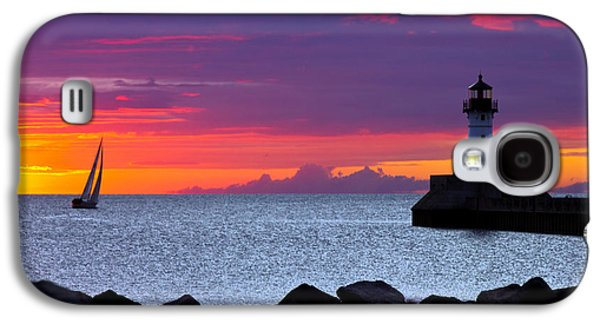 Sunrise Sailing Galaxy S4 Case by Mary Amerman