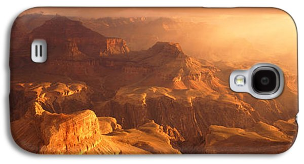 Hopi Galaxy S4 Cases - Sunrise View From Hopi Point Grand Galaxy S4 Case by Panoramic Images