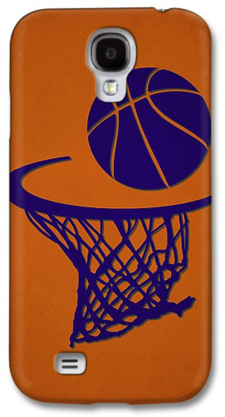 Sun Galaxy S4 Cases - Suns Team Hoop2 Galaxy S4 Case by Joe Hamilton
