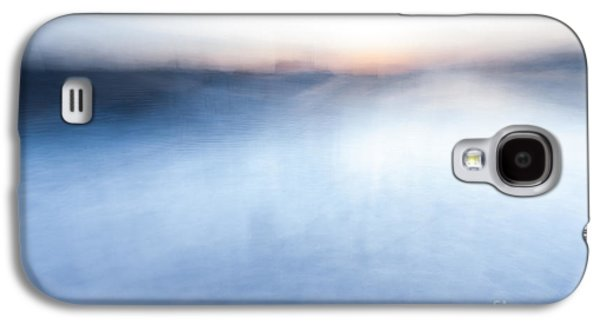 Sunset Abstract Galaxy S4 Cases - Sunset abstract Galaxy S4 Case by John Farnan