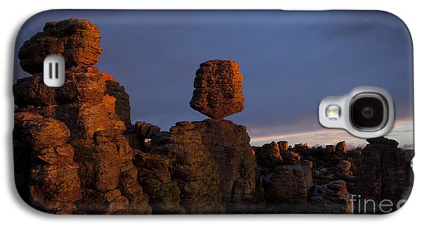 Surreal Landscape Photographs Galaxy S4 Cases - Sunset at Chiricahua Galaxy S4 Case by Keith Kapple