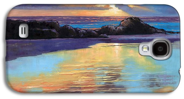 Best Sellers -  - Janet King Galaxy S4 Cases - Sunset at Havika Beach Galaxy S4 Case by Janet King