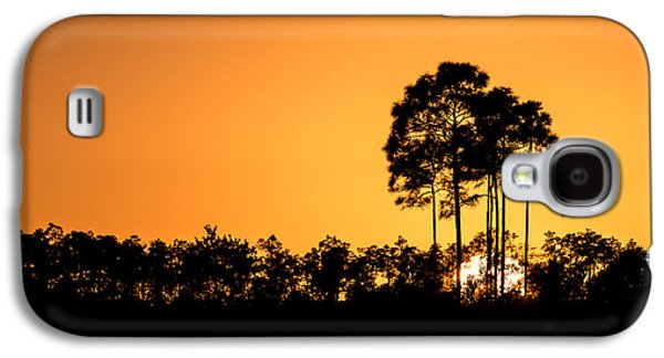 Sun Galaxy S4 Cases - Sunset at Long Pine Key Pond Galaxy S4 Case by Andres Leon