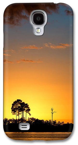 Sun Galaxy S4 Cases - Sunset at Long Pine Key Vertical Galaxy S4 Case by Andres Leon