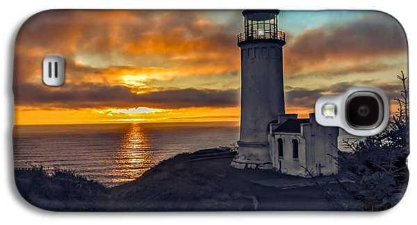 Haybale Photographs Galaxy S4 Cases - Sunset at North Head Galaxy S4 Case by Robert Bales