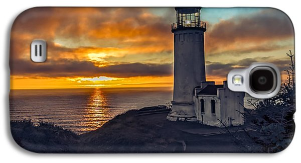 Landmarks Photographs Galaxy S4 Cases - Sunset at North Head Galaxy S4 Case by Robert Bales