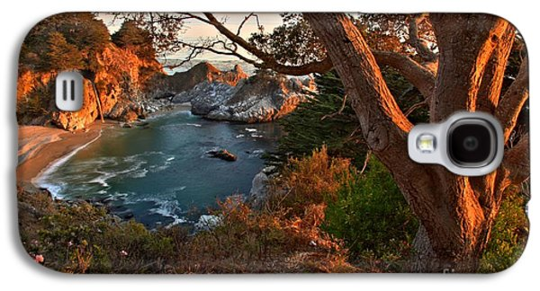 Big Sur Ca Galaxy S4 Cases - Sunset At Pfeiffer Burns Galaxy S4 Case by Adam Jewell