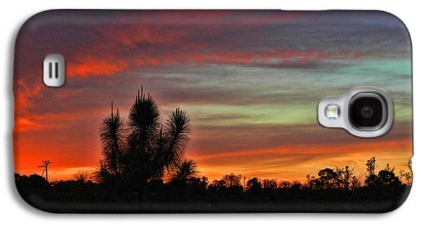 St. Lucie County Galaxy S4 Cases - Sunset at Savannas Galaxy S4 Case by Grace Dillon