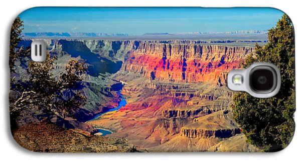Haybale Galaxy S4 Cases - Sunset at South Rim Galaxy S4 Case by Robert Bales