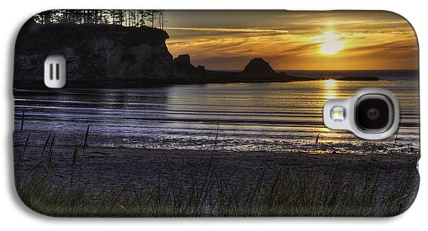 Sunset Bay Paradise Galaxy S4 Case by Mark Kiver